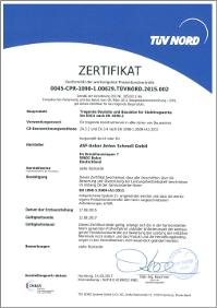 Konformität der werkseigenen Produktionskontrolle [WPK gem. EN 1090-1] für die Herstellung von tragenden Bauteilen und Bausätzen für Stahltragwerke gem. EN 1090-2 bis EXC4 (seit 2014 // DVS Zert)